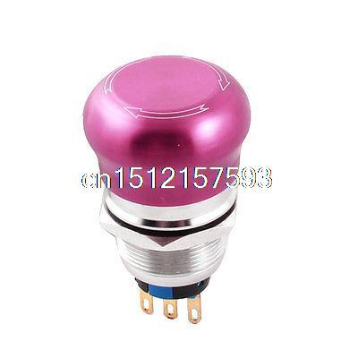 AC 250V 5A 22mm SPDT 1NO 1NC Stainless Steel Emergency Stop Push Button Switch купить