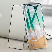 6D Curved Edge Tempered Glass For iPhone X 8 Plus glass 9H Hardness Full Cover iphone 6 6S 7 Screen Protector HD Film