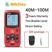 Mileseey Mini Digital laser distance Meter trena laser Tape measure Diastimeter tester tool 100M-80M–60M-40M Laser Rangefinder