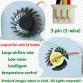 100% Original New CPU Fan Para DELL 15R 5520 5525 7520 VOSTRO 3560 1728 P25F Laptop reparação parte substituição de Refrigeração refrigerador de Ventoinha