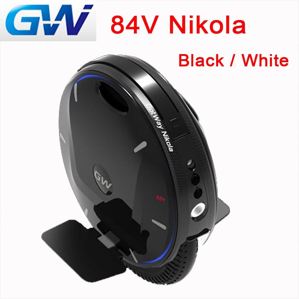 Gros MOS GotWay Nikola 84V 17 pouces monocycle électrique 2000W moteur grande batterie