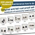 [Attach] 200 pçs/set Sortidas Parafusos de Substituição para o Portátil
