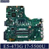 Kefu LA-C341P 노트북 마더 보드 acer aspire E5-473GTest 오리지널 메인 보드 I7-5500U gt920m