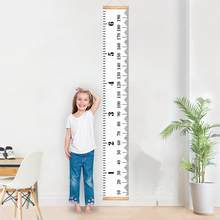 Baby Bed Room Props Wooden Baby INS Nordic Height Measure Ruler Child Kids For Bedroom Home Decoration For Baby Bed Bumper(China)