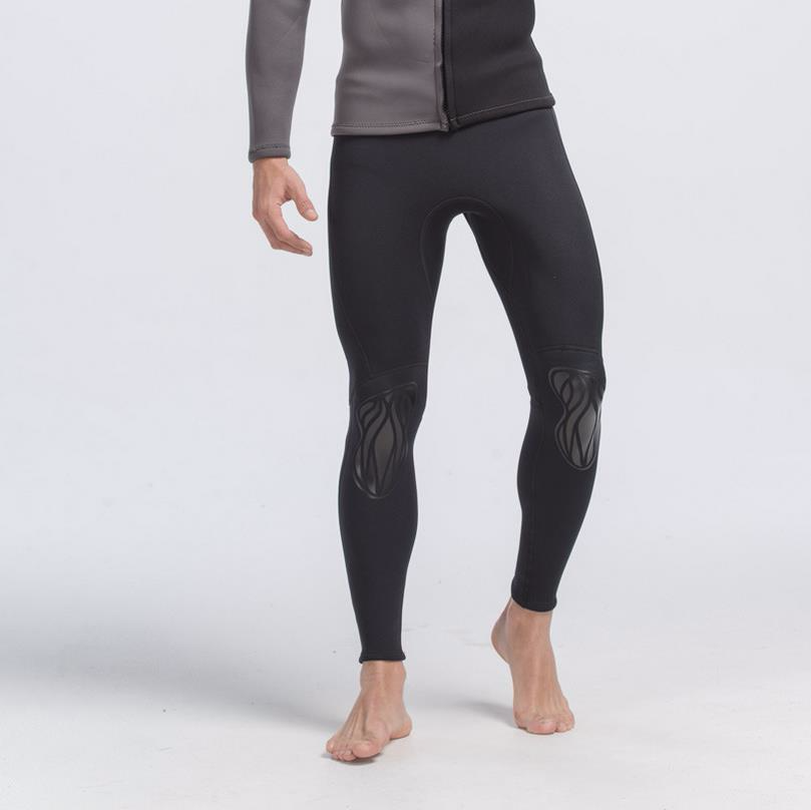Pria 3 Mm Neoprene Renang UV Celana Panjang Menyelam Celana Ketat Olahraga Legging Baju Berenang K Berlaku Pendek De Bain S701