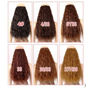 Kanekalon Hair Nature 5pcs 45 55cm Long Women S Styling Jessica Simpson Piece Extension