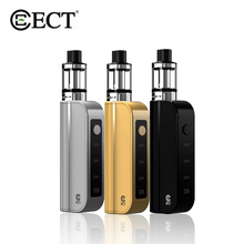 ECT Traveler C50 Mod Kit Adjustable 20W/30W/50W Starter Vaper Kit 1800mAh Battery 510 Thread 2ml Tank Electronic Cigarette Vape цена
