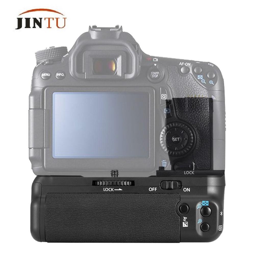 JINTU nouvelle batterie Grip Pack BG-E18 pour Canon EOS 750D 760D rebelle T6i T6s X8i 8000D DSLR appareil photo puissance