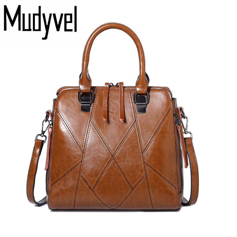 New Women handbags quality Cow leather Fashion casual shoulder bag luxury bolsa feminina messenger bags new 2016 women bag vintage canvas handbags messenger bags for women handbag shoulder bags high quality casual bolsa l4 2669
