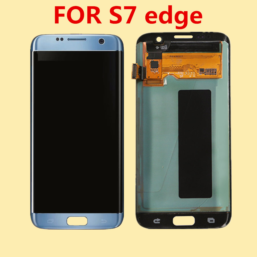 For SAMSUNG Galaxy S7 Edge LCD Display for Samsung S7 Edge G935F SM G9350 LCD Screen Touch Digitizer Assembly