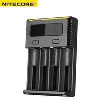 NEW NITECORE I4 Charger Smart Intellicharger batteries Charger for Li ion/IMR Nicd 16340 14500 18650 26650 AA AAA batteries