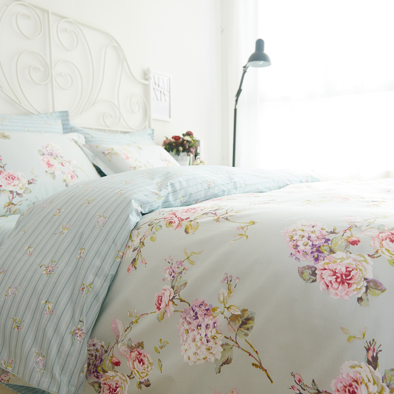 Romantic American Country Style Vintage Floral Bedroom Set,Designer Shabby  Girls Bedding Set,Modern