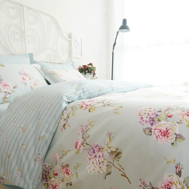 romantic american country style vintage floral bedroom setdesigner shabby girls bedding setmodern