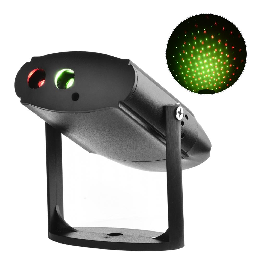 Red Green Star USB Rechargeable Laser Disco Light Mobile Par LED Laser Projector DJ Laser Stage Lighting sergio tacchini active water