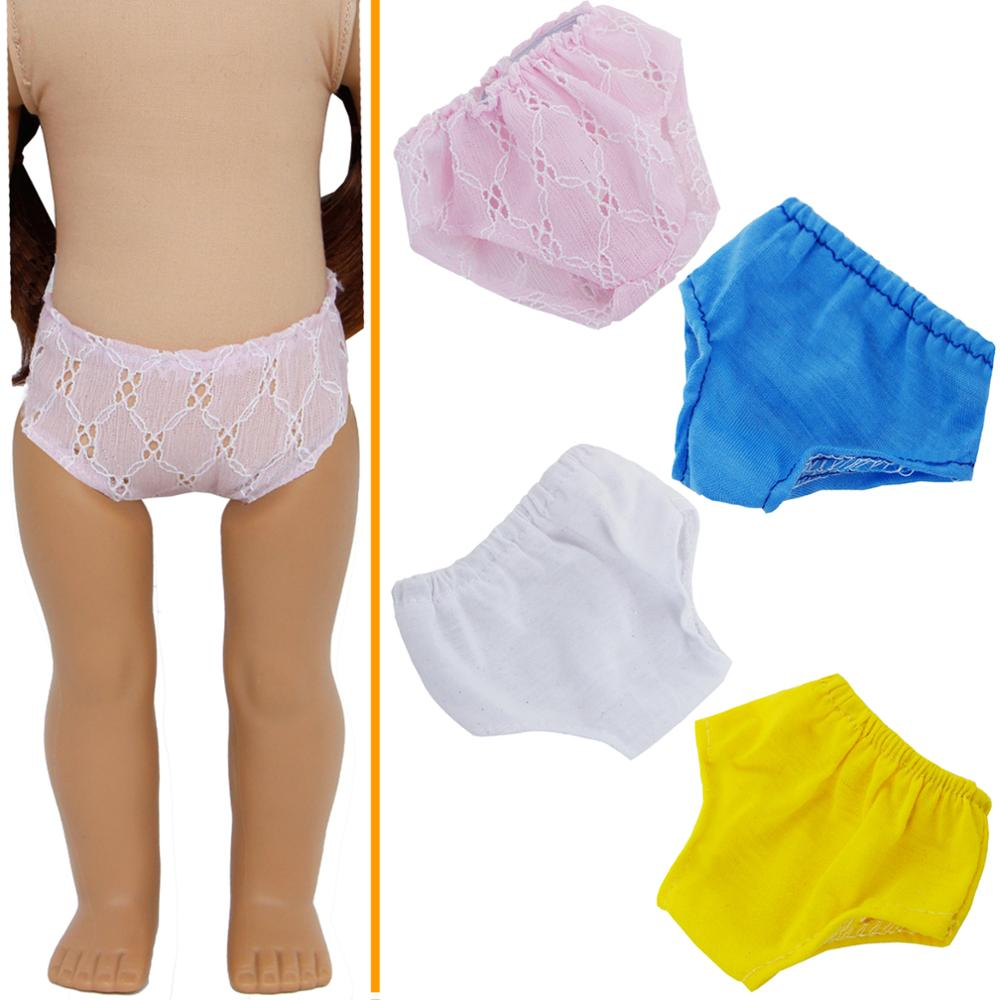 Cute Handmade Doll Cloth Clothes Underwear Panty for 18 inch //45cm Low Price