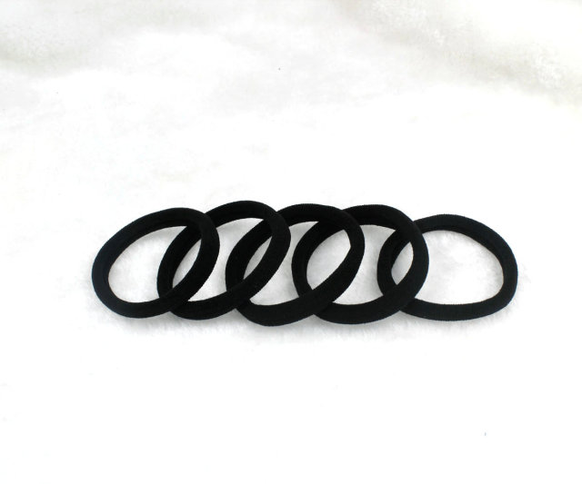 20pcs Hair Ties. strong fine Creaseless Hair Ties. Ponytail Holders for Hair  Comfortable Cotton Hair Ties. 11475d95a54