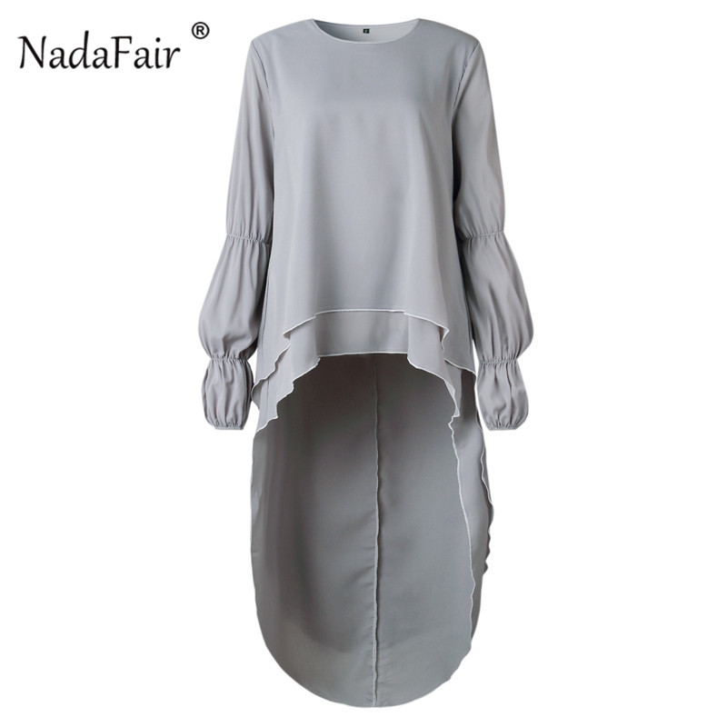 Long Sleeve Asymmetrical Blouse50_