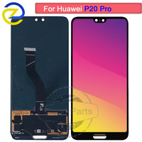 New 6.1 Black LCD Huawei P20 Pro LCD Display Screen Touch Digitizer Assembly P20 Pro CLT AL01 Lcd P20 Plus Display with frame