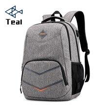 Men Backpack Oxford Male Travel bag Backpacks fashion men and women usb student bag laptop bag High capacity backpack цены онлайн