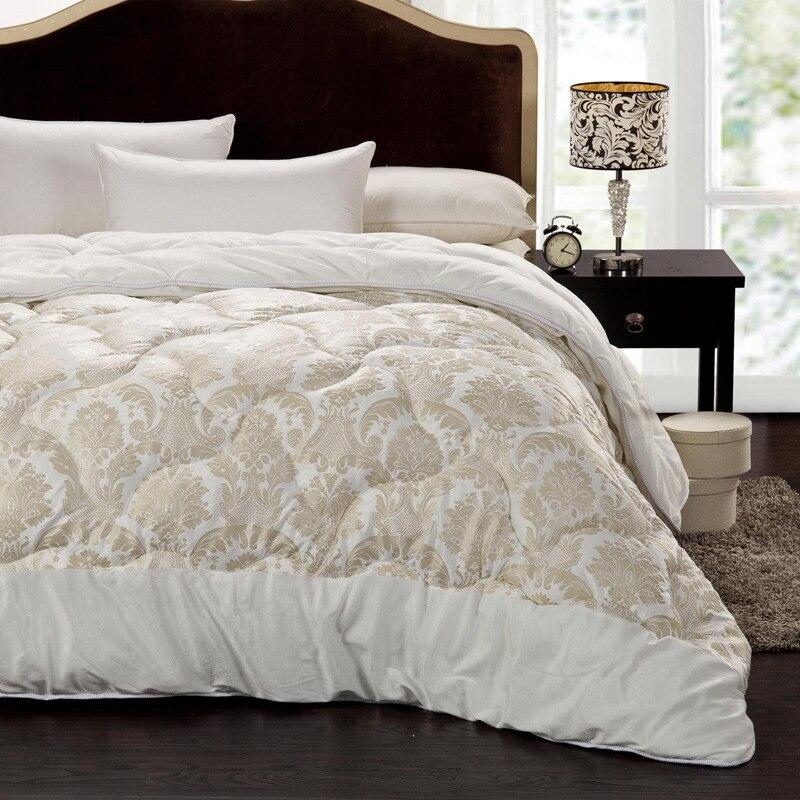 short plush winter quilt five star hotel special winter warm comforter simple luxury blanket. Black Bedroom Furniture Sets. Home Design Ideas
