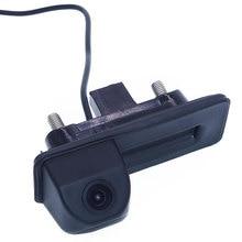 Car Rear view camera Car parking camera Trunk handle camera Night vision waterproof color For skoda octavia/ fabia For audi A1