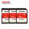 TOSHIBA Original High Speed Memory SD Card UHS U3 32G 64G 128G SD Card Support 4K Shooting for Digital SLR Camera Camcorder DV