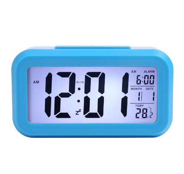 Student bedside smart alarm clock light control multi function square smart clock factory direct children's electronic gifts-in Personal Care Appliance Accessories from Home Appliances