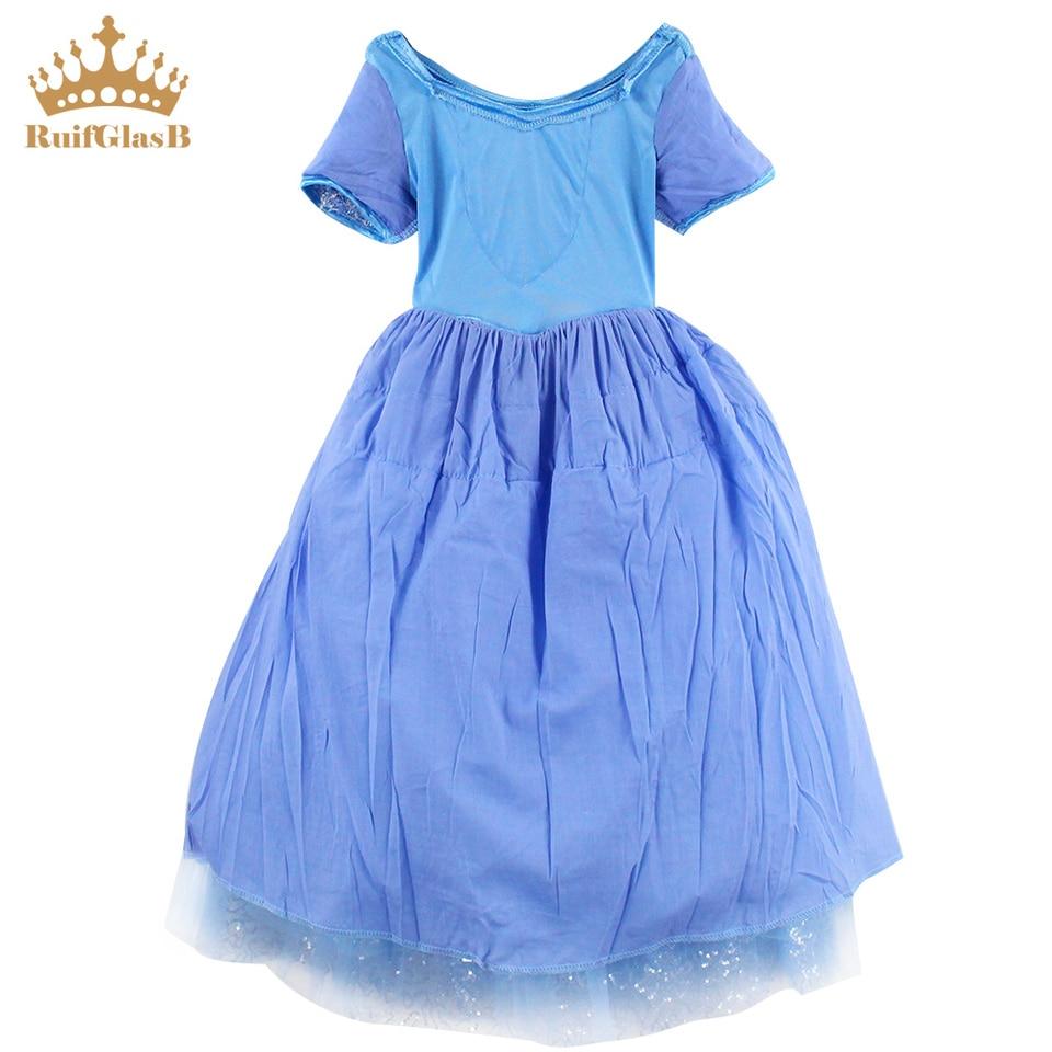 RuifGlasb kids dresses for girls Princess cinderlla robe pour