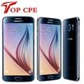 "Оригинальный Samsung Galaxy S6 G920F S6 Edge G925F G925P Мобильный Телефон Окта Ядро 3 ГБ RAM 32 ГБ ROM 16MP 5.1 ""Android 5.0 Смартфон"
