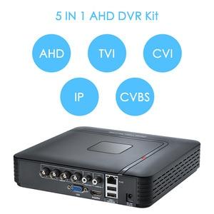 Image 5 - Fuers 4.0mp 4ch 5in1 ahd dvr vigilância cctv sistema de segurança 1520 p à prova dwaterproof água câmera cctv vídeo hdmi com 1 tb 2 hdd diy conjunto