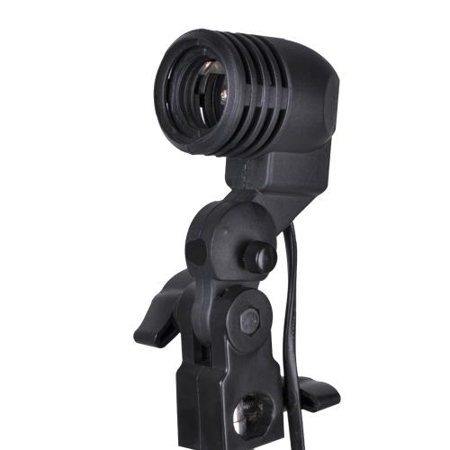 Nicefoto E27 Single Head Photo Lighting Bulb Holder,Umbrella Bracket Photography Studio Ligh For E27