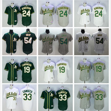 d48c0beb3 Majestic Men s Oakland Athletics Pete Gray Ricky Henderson Jose Canseco  Bert Campaneris JERSEYS(China)