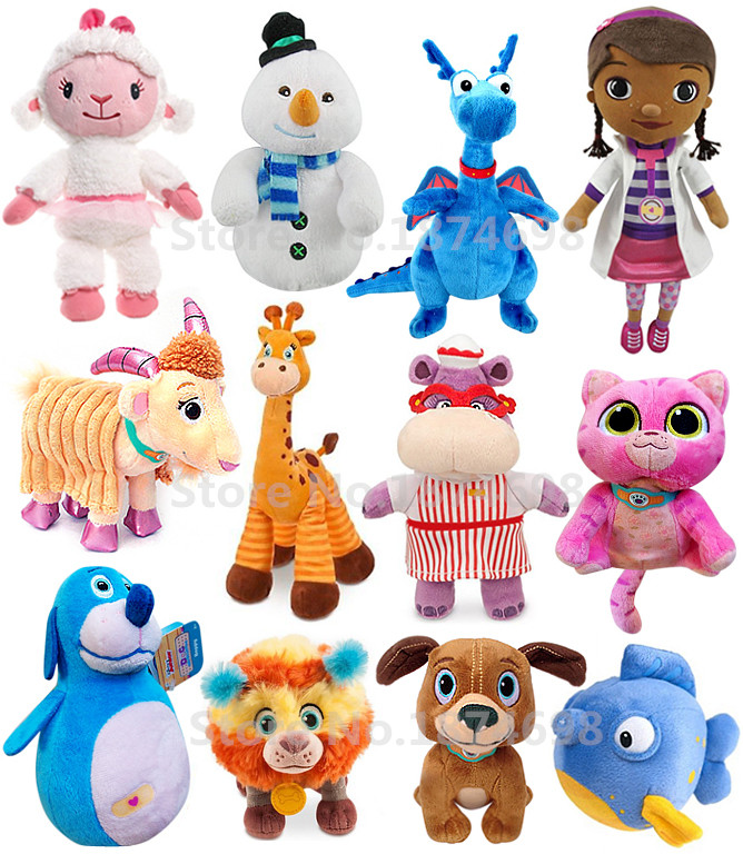 Doc Mcstuffins Toys : Aliexpress buy doc mcstuffins toys lambie stuffy