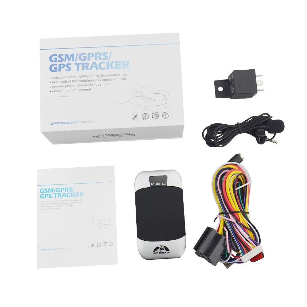 R$ 78 74 32% de desconto GPS303H veículo tracking real time de bateria  fraca alarme com monitoramento em tempo real gps tracker Coban original  TK303H