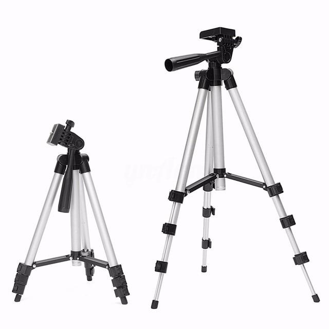 Universal Mini Tripé de Alumínio Leve 4 Seções Tripé de Câmera Suporte de Câmera Foto Tripé Gorillapod 29 Tripe-65 cm