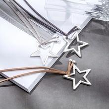 2018 New Long Necklace Women Jewelry statement necklaces & pendants Star Pendant women collares mujer choker kolye bijoux femme
