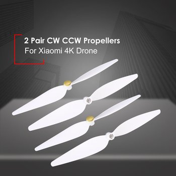 Hot! 2 Pairs 10inch Propellers Spare Parts Props Set for RC Xiaomi 4K Version Drone 4Pcs Blades CW CCW Propellers RC Drone Accs image