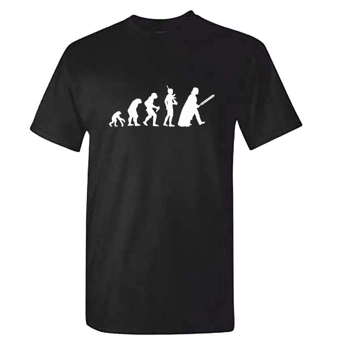 Star Wars Evolution T-Shirt - Mens Darth Vader Movie Last Jedi Fathers Day Summer Short Sleeves Fashion T Shirt Free Shipping