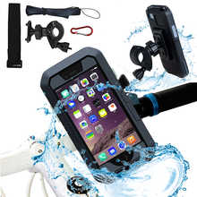 Bicycle Motorcycle Phone Holder For iPhone X 7 8 Plus Waterproof Telephone Support For Moto Stand Bag Bike Cover Mobile phone - DISCOUNT ITEM  30% OFF All Category