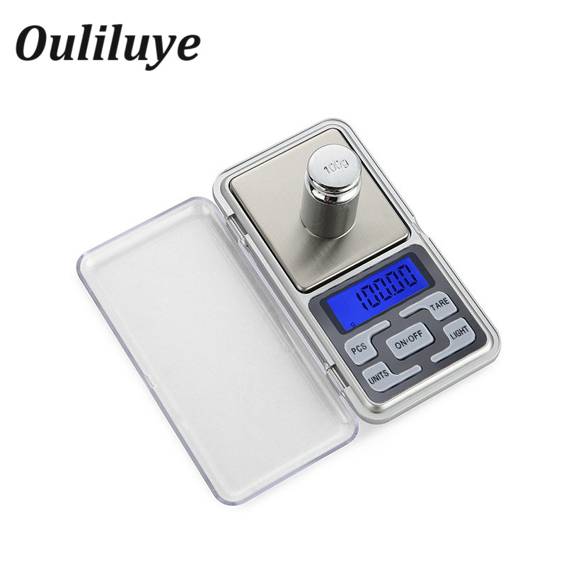 Mini Precision Digital WeightScales for Gold Sterling Silver Jewelry Scale 0.01g LCD Electronic Weighing Pocket Balance Scale