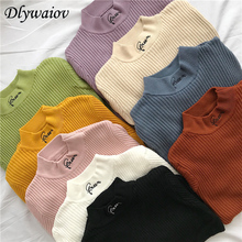Turtleneck Sweater Women Tops Soft Keep Warm Long Sleeve Sweater Casual Elastic Knitted Pullover Female 2019 Autumn Winter