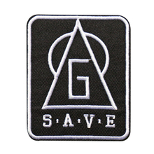 Custom Embroidered Logo Name Patches Iron on DIY Design Badges can be customized with your logo factory OEM цены онлайн