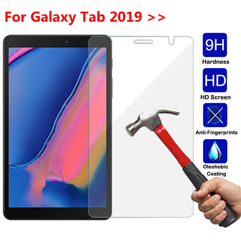 3D Glass For Samsung Galaxy Tab 8.0 2019 P205 Tempered Glass Tablet Screen Protector For Galaxy A10.1 T510 Advanced 2 T583 Films