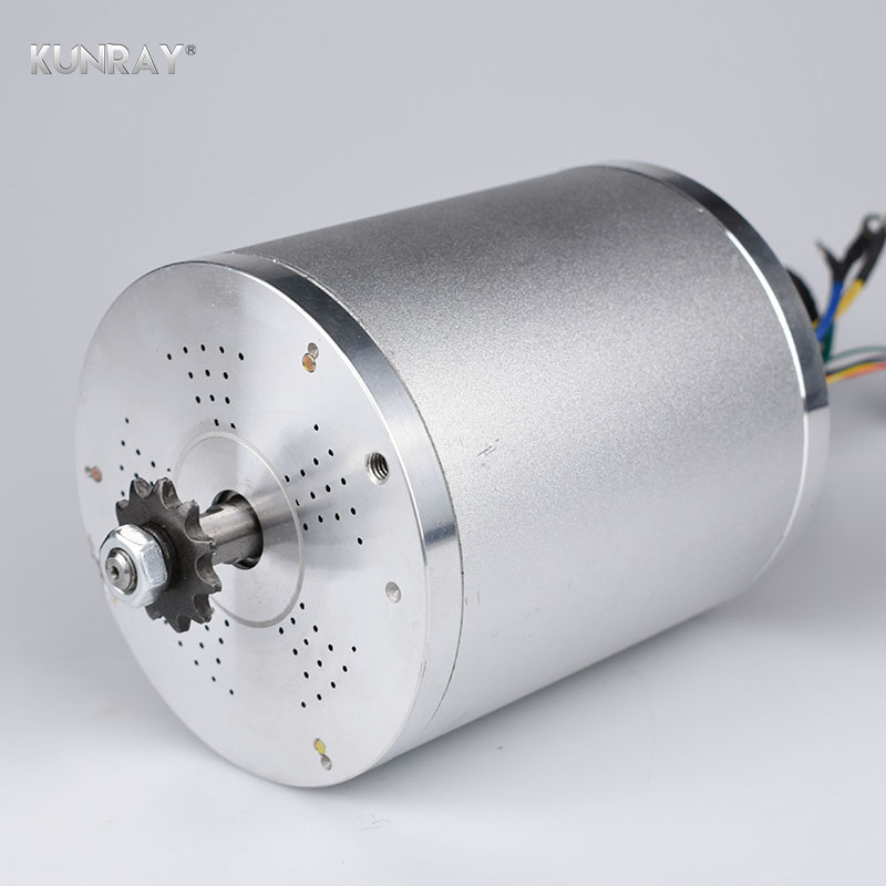 KUNRAY 60V DC 2000W BLDC Motor 4600RPM Electric Scooter E Bike Brushless Engine Motor Electric Bicycle Accessories hub motor 60v 2000w central drive high speed bldc motor 5500rpm electric bicycle brushless velo motor e scooter bike wheel motor