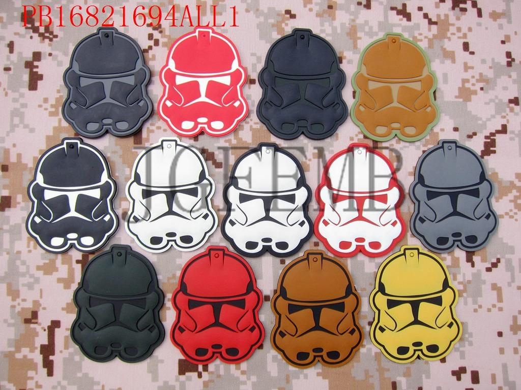 STAR WARS Legion NEW Imperial clone Troopers Logo 3D PVC patch