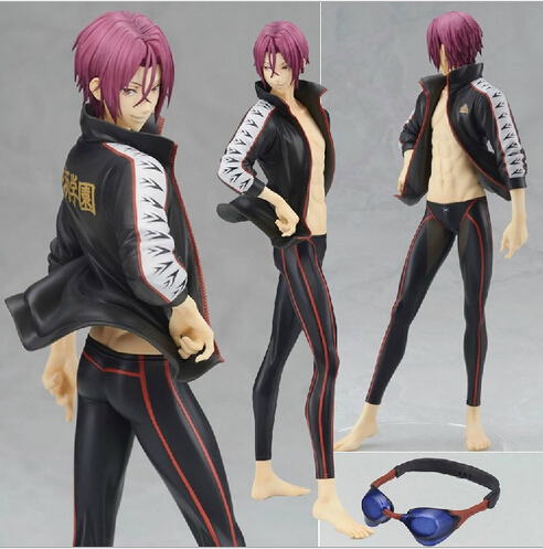 NEW hot 22cm Free! Free ! Rin Matsuoka Eternal Summer action figure toys collection christmas toy doll no box new hot 19cm gintama kagura leader action figure toys collection doll christmas toy with box