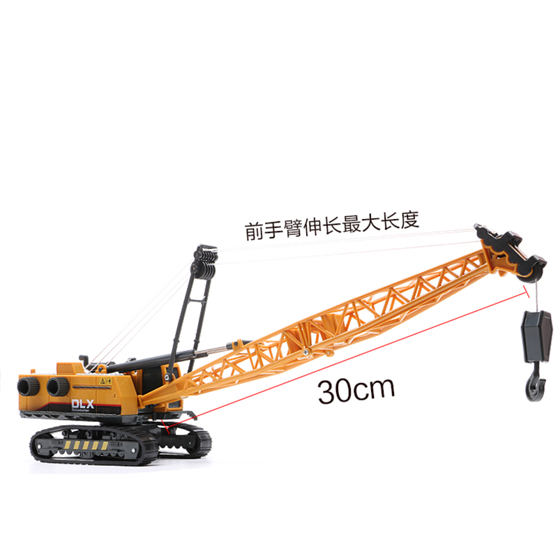 30cm Diecast Alloy Tower Crane Vehicle Model Truck Machine Model Toy Engineering Truck F Kids Toys Gifts