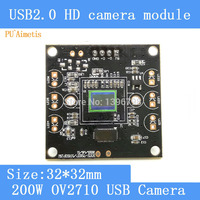 PU`Aimetis Surveillance camera HD 200W pixel 1 / 2.7 OV2710 PCB board tablet notebook computer using the USB camera module