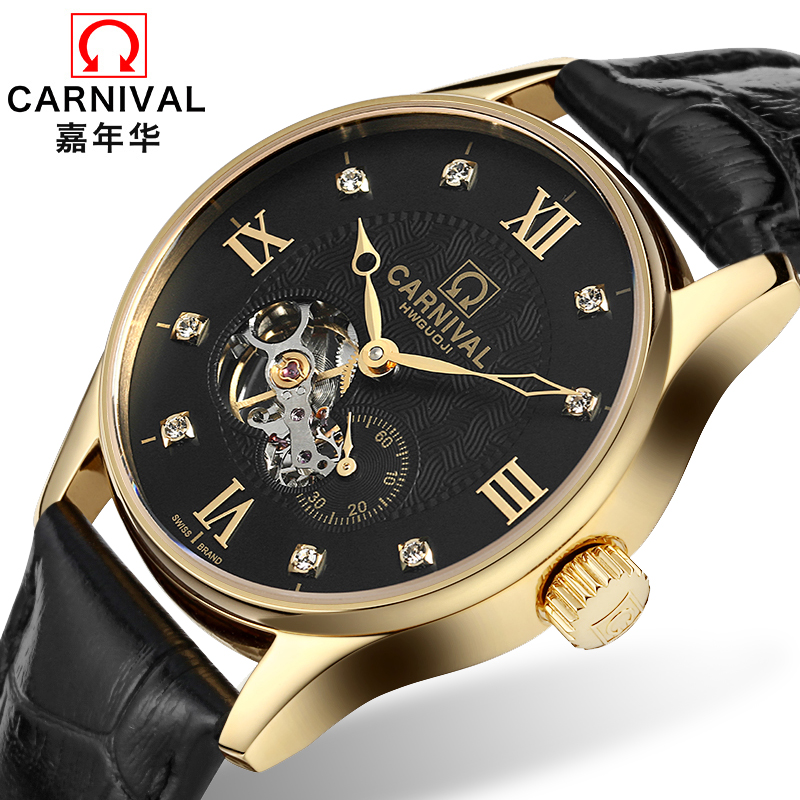 Swizeland Carnival Brand Luxury Men Watches Automatic Mechanical Watch Men Sapphire reloj hombre relogio Wristwatches C8671-8 wrist switzerland automatic mechanical men watch waterproof mens watches top brand luxury sapphire military reloj hombre b6036