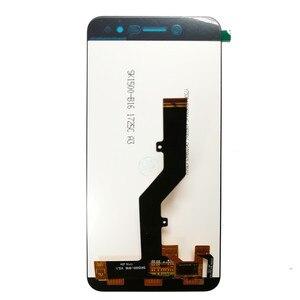 Image 3 - ل ZTE شفرة A520 شاشة الكريستال السائل + اللمس استبدال الشاشة محول الأرقام مع الجمعية الإطار الهاتف لوحة ل ZTE A520 520 عرض